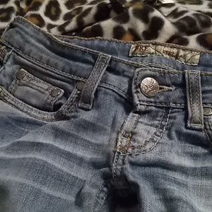 Bke Stella light wash bootcut jeans (22S)